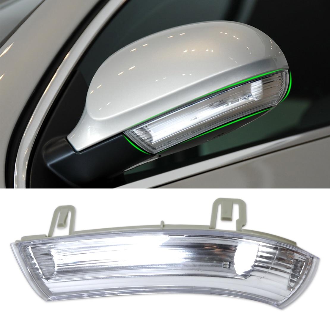 beler Left Side Mirror Indicator Turn Signal Light 1K0949101 For VW GOLF GTI JETTA MK5 PASSAT RABBIT Skoda SUPERB SEAT ALHAMBRA 1 psc left side mirror indicator light turn signal lamp for mazda 6 2 0l 2008