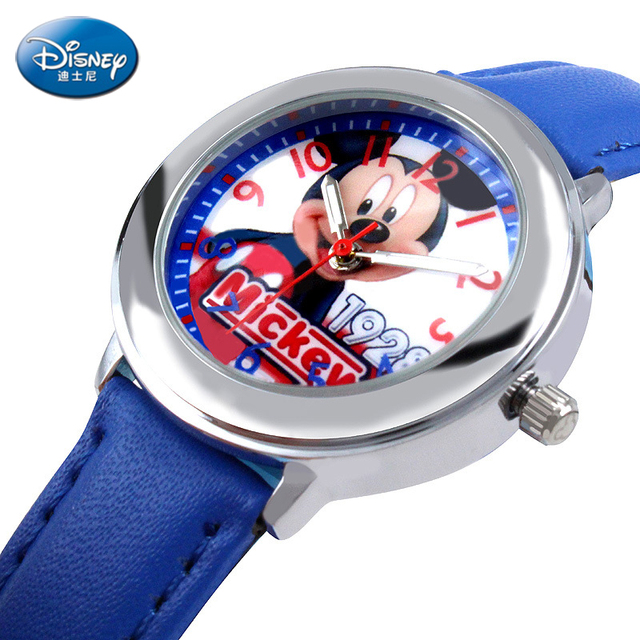 2016 hot Disney brands Fashion Wrist Watch Girl Woman Unisex Lady Children Cute Funny Wristwatch Hour