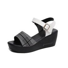 Туфли на платформе Ho Heave, летняя женская обувь на высоком каблуке, дышащие сандалии на нескользящей платформеБоссоножки и сандалии    АлиЭкспресс