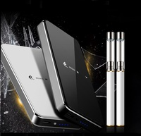 Vape pen 220 mAh with 1000mAh Mobile power Box Emulate Smoking tank electronic cigarette 2019 Newest vaporizer with 2 atomizer