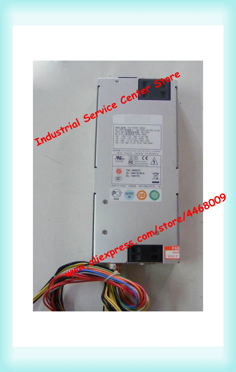 1U P1H-6400P rated 400W server industrial control dedicated power supply1U P1H-6400P rated 400W server industrial control dedicated power supply