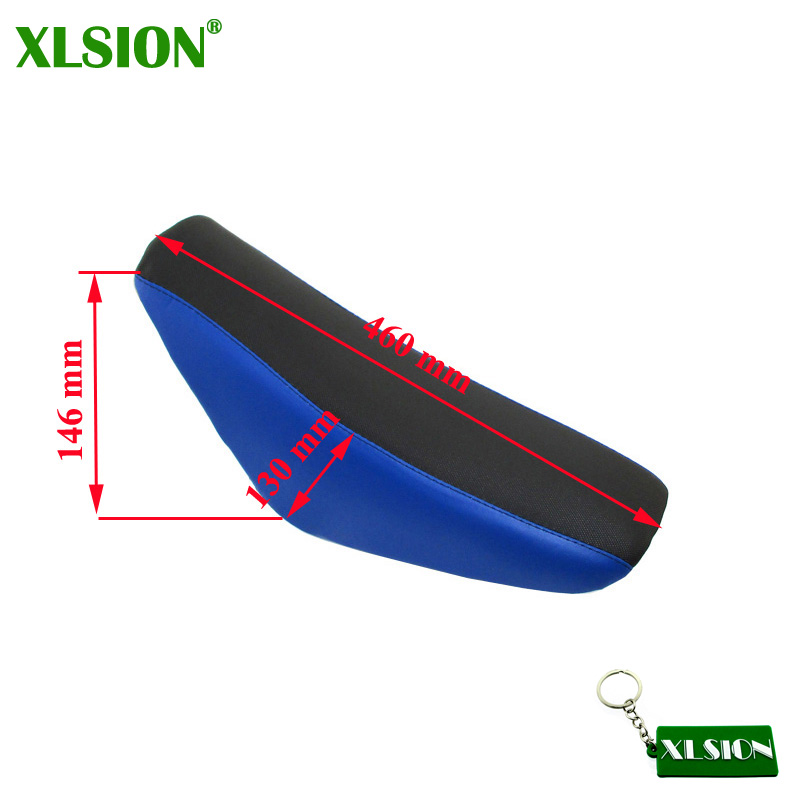 XLSION Tall Foam Seat For 50cc 70cc 90cc 110cc 125cc 140cc 150cc 160cc Honda Pit Dirt Trail Motor Bike CRF50 XR50