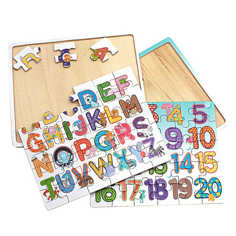 wood puzzles english edition