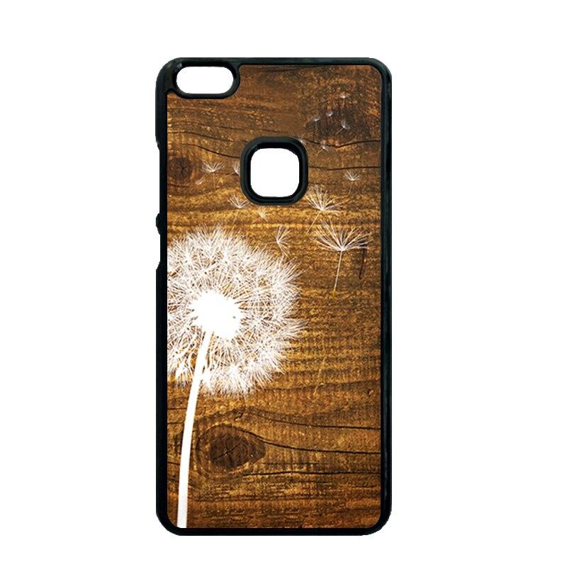Dandelion on Vintage Wood Case for Huawei Ascend P7 Mini P8 P9 P10 Lite P9 P10 Plus Xiaomi Redmi 2 3 4 Note 2 3 4