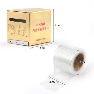 Image 5 - 1 doos Wimper Remover Clear Plastic Wrap Eye Gebruik Conserveermiddel Film Professionele Valse Wimpers Extension Permanente Make Up Tool