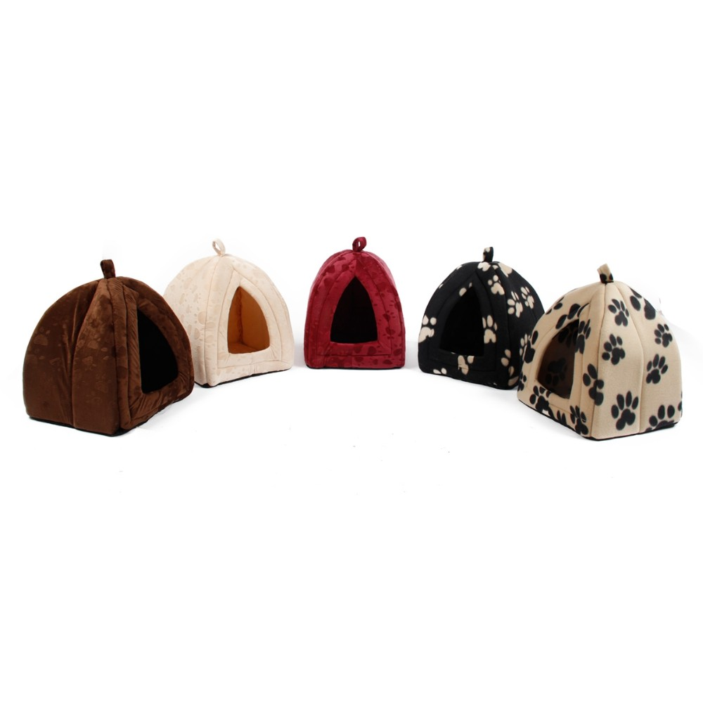 Cat Bed - Soft Fabric Cone Shape Bed/House - Five colors