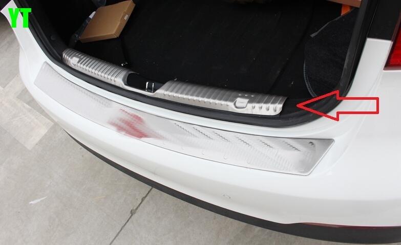 Авто Задний бампер протектор для Buick envision, нержавеющая сталь, авто аксессуары
