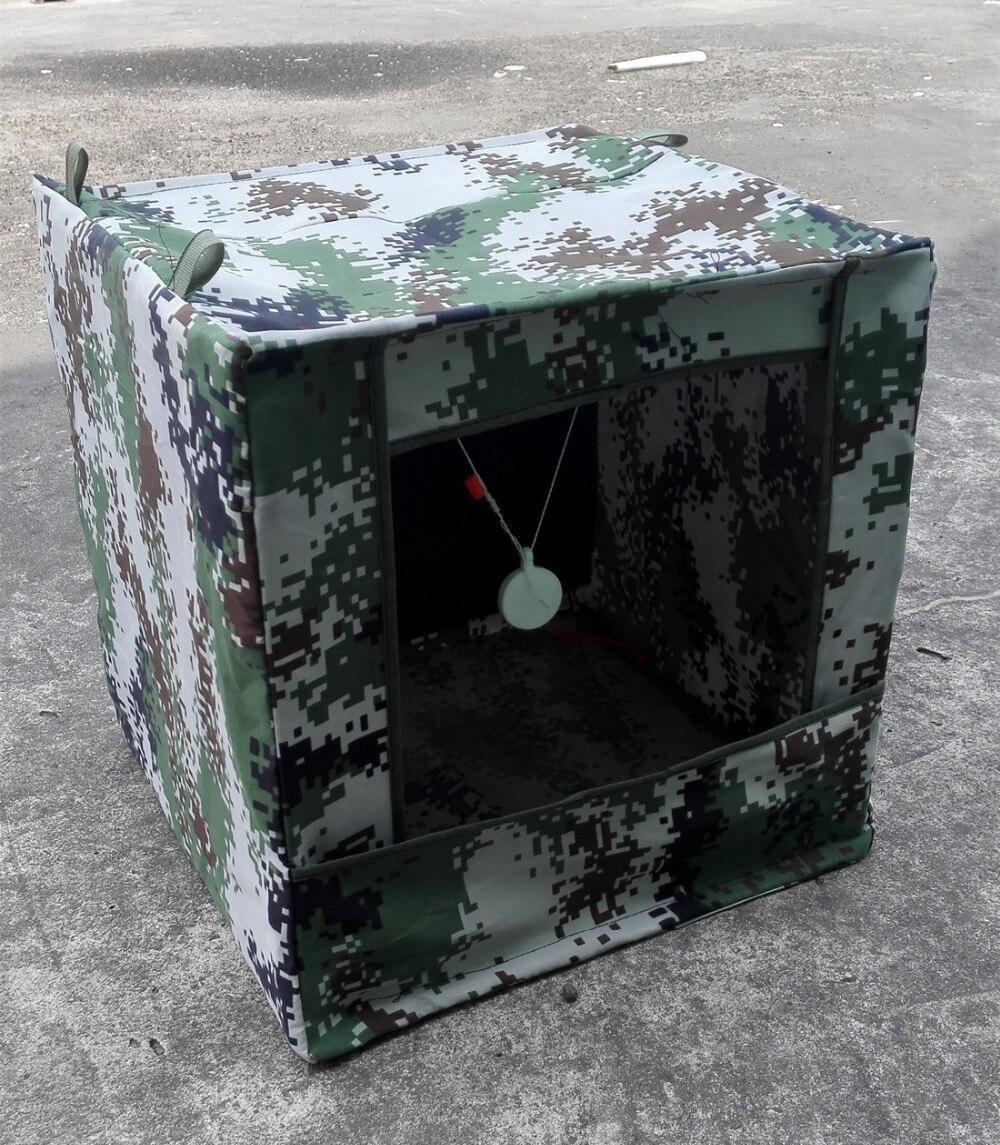 Outdoor shooting target Slingshot bullet collector Silence target box 40 * 40CM slingshot dedicated Camouflage