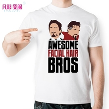 Awesome Facial Hair Brothers Doctor Strange T Shirt Design Fashion Creative T-shirt Cool Novelty Funny Tshirt Unisex Style Tee