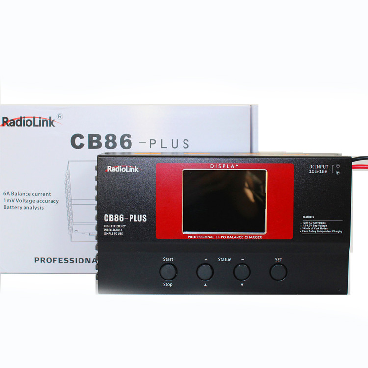 Зарядное устройство для баланса Radiolink CB86 Plus для 8 шт 2 6 S Lipo батарея в одно время профессиональная для RC вертолет 2 6 S Lipo батарея