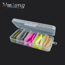 Mmlong 25pcs Set Field Mushy Baits Synthetic Fishing Lures MSB65 Silicone Bait Wobblers Jigging Worm Lure Carp Fishing Deal with Isca