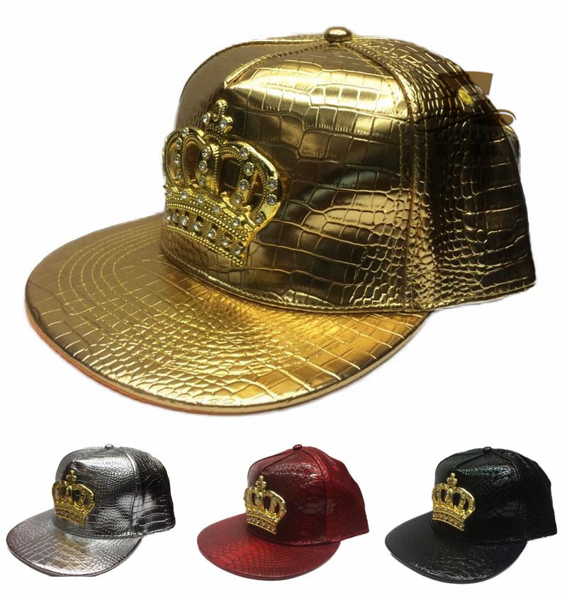 2016 Fashion Leather Autumn Brand Metal Crowne Europe Baseball Cap Hat For Men Women Casual Hip Hop Snapback Caps Sun Hats пена монтажная mastertex all season 750 pro всесезонная