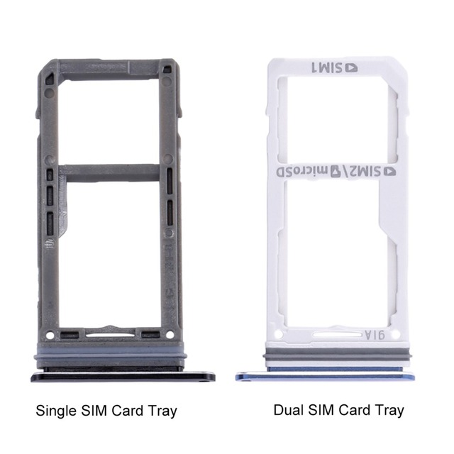 US $1 67 11% OFF|1pcs Dual / Single SIM Card Tray & Micro SD Card Tray for  Galaxy Note 8 -in SIM Card Adapters from Cellphones & Telecommunications on