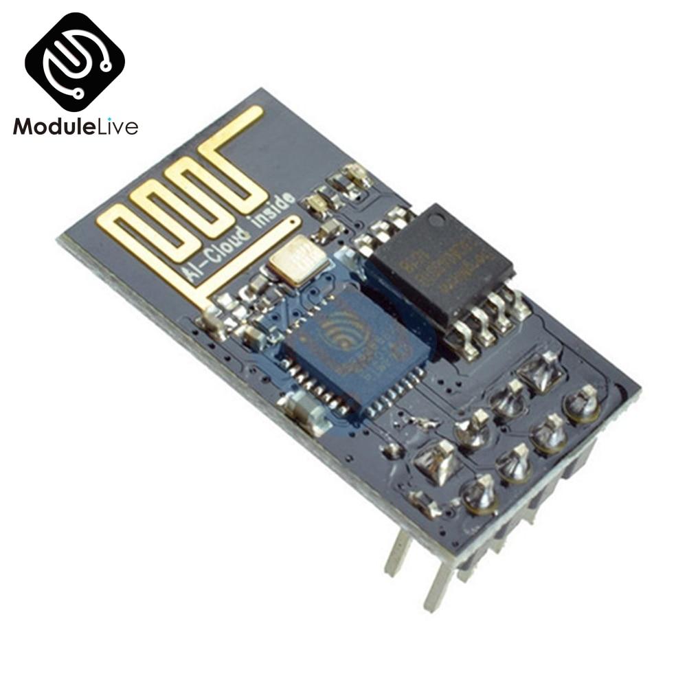 SHAPB ESP8266 ESP-01 ESP01 Serial WiFi Wireless Module Wireless Transceiver Receiver IOT Module for 3 Internet of Things