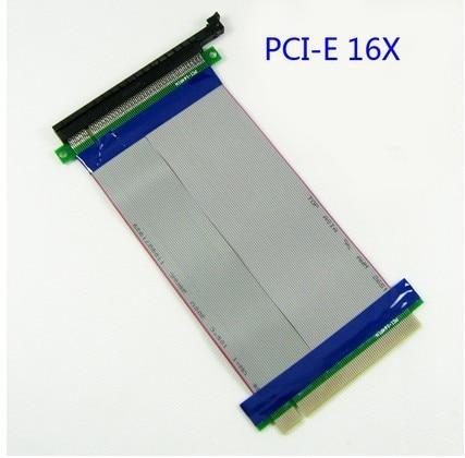 все цены на 1U 2U server/computer PCI-E PCI E express 16X to 16X riser card adapter extender cable 16 pci express flexible riser 29cm онлайн