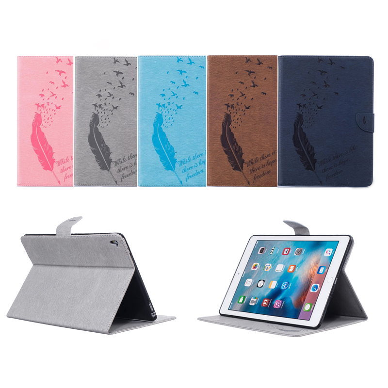 Luxury Fashion crazy horse Leather Flip Cover For Apple iPad Pro 9.7 Case Tablet wallet  ...