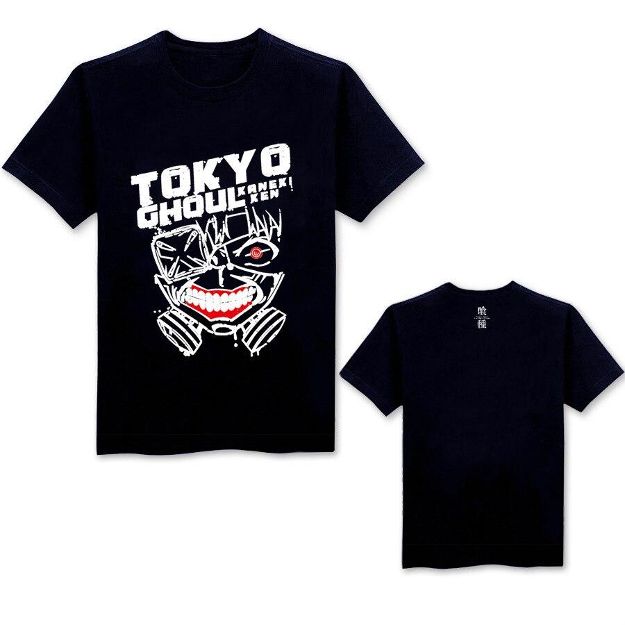 Summer anime MEN WOMEN Tokyo Ghoul cosplay hoodie kaneziki clothes sweater kaneki ken carnaval cosplay shirt short sleeve SHIRT