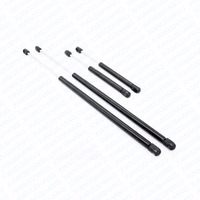 4pcs Auto Hood Rear Window Lift Supports Gas Spring Struts Damper Charged Arms Rods For 2002