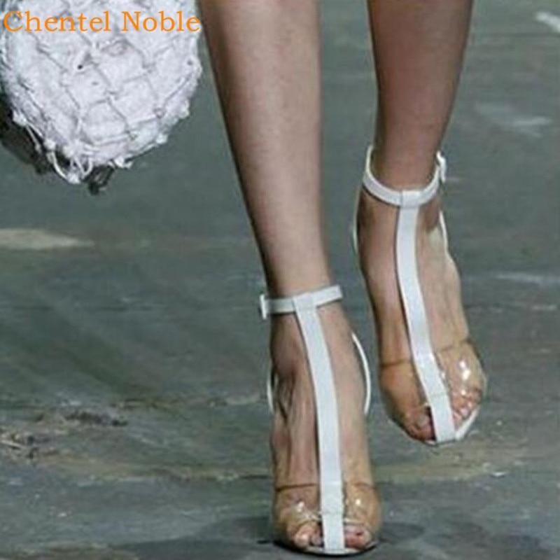 Heiße Luxus Heels Runway Schuhe Picture Verkäufe Picture Street Atmungsaktive High Sandalia Schnalle Pumpen Frau As Feminina Damen Sexy Fashion as qzY5wq