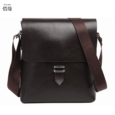 XIYUAN male leather small business office bags men messenger bags travel shoulder bags for men cross body bag chest packs brown hot 2017 new arrival fashion leather men messenger bags high quality casual small chest packs vintage brown shoulder bags bolsos