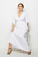 Sexy Dress Plus Size Maxi Dress White Women Summer Long Dresses Robe Longue Femme Xxxl Party Zomer Jurk Vestidos Mujer 2019