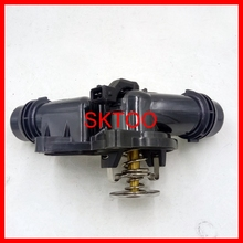 Engine Coolant Car Thermostat housing With Sensor 11537509227 For BMW E39 E46 E53 E83 Z3 Z4 X5 X3 320i 325i 330i 525i цена и фото