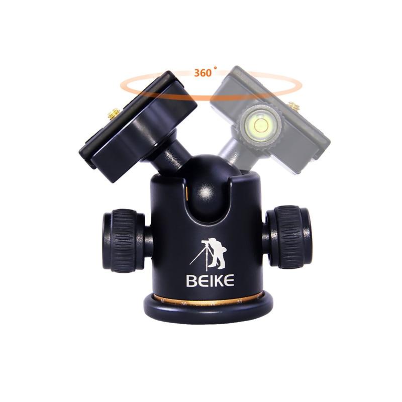 beike BK-03 kaamera statiivi kuulipea kiire vabastusplaadiga 1/4 - Kaamera ja foto - Foto 2
