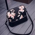 YOUYOU MOUSE Fashion Women Handbags Flower Printing Women Messenger Bags Cartoon Hit Color Shoulder Bag Casual Shell Handbags
