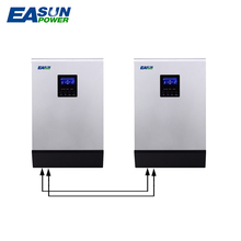 EASUNPOWER MPPT Solar Inverter 80A 10000W Off Grid Inverter 48V 220V Pure Sine Wave Inverter Hybrid Inverter 60A Battery Charger
