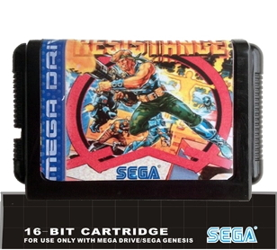 Midngiht Resistange - 16 bit MD Games Cartridge For MegaDrive Genesis console