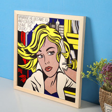Pop Art Girls Love Canvas Print Painting Poster Wall Pictures For Room Home Decoration Decor No Frame