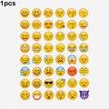1 unids pegatina corte 48 classic Emoji álbumes pegatinas cara de la Sonrisa para el cuaderno, mensaje de Twitter Instagram Large Viny juguetes Clásicos