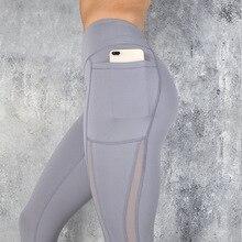 SVOKOR Fitness kobiety legginsy Push up kobiety wysokiej talii kieszeń trening legginsy 2019 moda legginsy na co dzień Mujer 3 kolor
