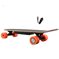 New Arrival Four Wheel Electric Kick Skateboard Hoverboard With Oraiginal LG Battery Remote Key Self Balancing