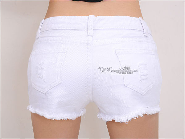 PROMOTION-specials-women-hole-white-denim-shorts-all-match-single-shorts -casual-white-jeans-shorts.jpg