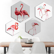 Flamingo Sfondo Promozione Fai Spesa Di Articoli In Promozione