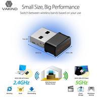 1200 Mbps 802.11AC 2.4G 5G Dual Band Draadloze Netwerk Lan-kaart Adapter Mini USB WIFI WIFI Dongle Antenne voor Dekstop Computer