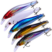 1 Pcs/ Man-made Boutique Luya Hard Bait 98mm 11.5g 3D Fisheye Minnow Freshwater Sea Fishing