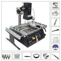 Infrared BGA Rework Station LY IR6500 V 2 With 80MM 90MM Bga Reballing Stencil 184pcs Kit