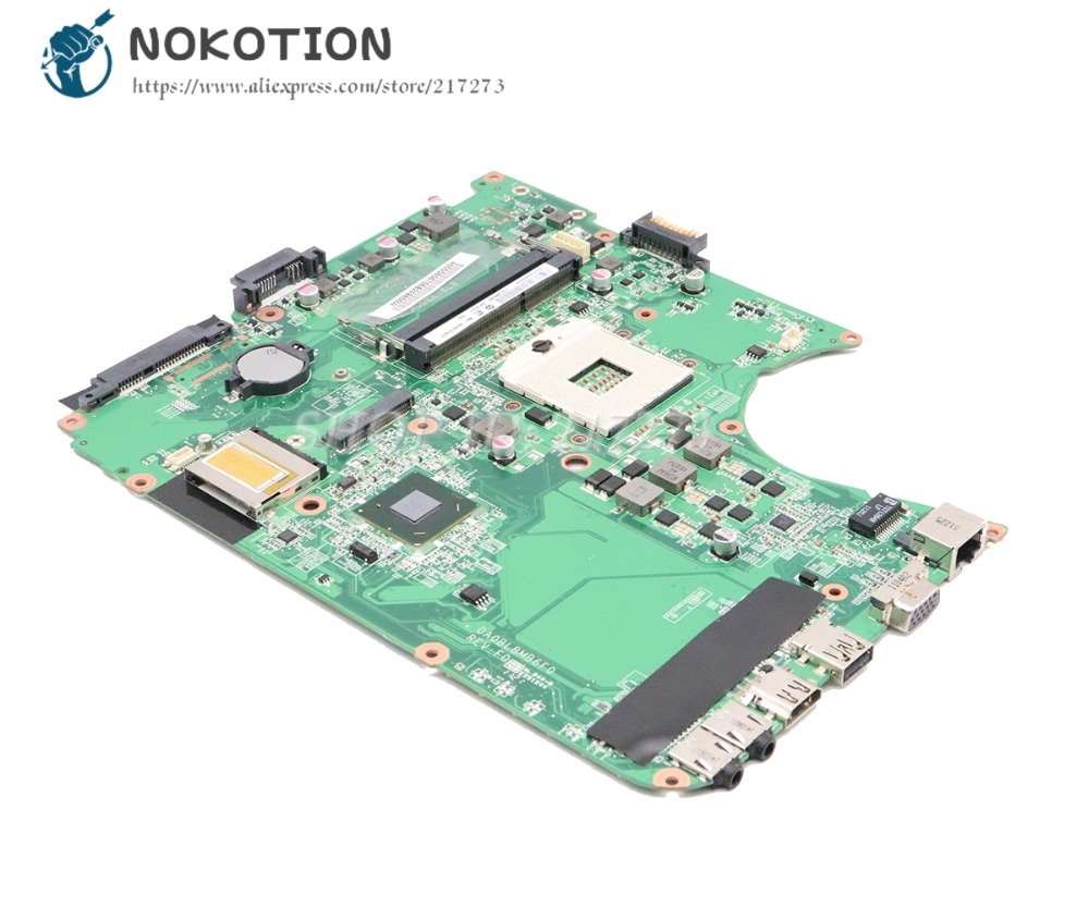 NOKOTION A000081420 A000080670 A000080800 DA0BLBMB6F0 For Toshiba Satellite L750 L755 Laptop Motherboard HM65 DDR3 MAIN BOARD стоимость