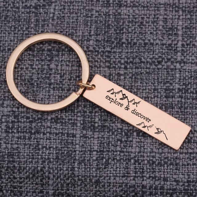 Suitcase Keychain,Traveler keychain,Explorer keychain,Adventure keychain,