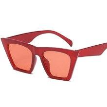 2018 de moda lindo Sexy Retro ojo de gato gafas de sol de las mujeres  Vintage de diseñador de la marca de ojo de gato gafas de s. f0a72d58414c