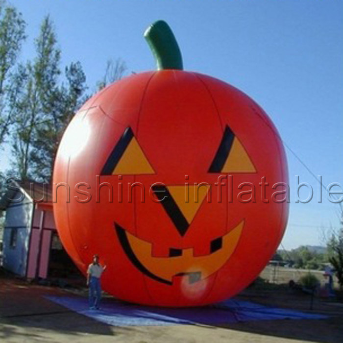 outdoor giant halloween decoration inflatable pumpkin for halloween promotionalchina - Outdoor Inflatable Halloween Decorations