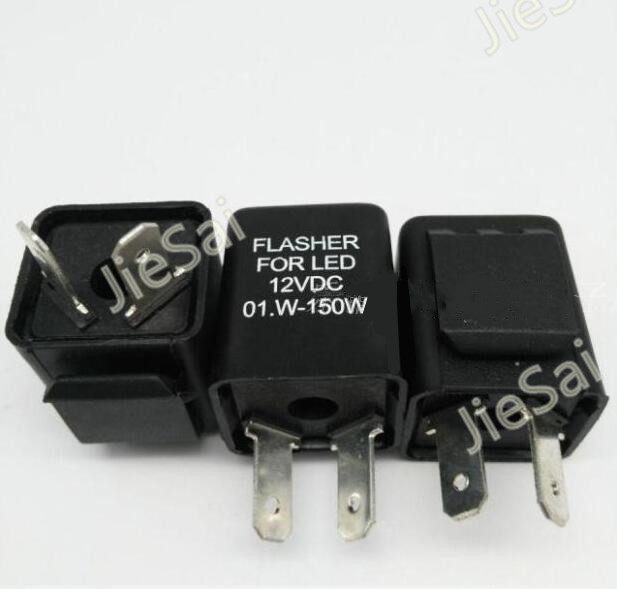 Flasher Relay with Buzzer Indicator Motorcycle Inbuilt Beeper Flasher relay for Turn Signal LED Blinker 2017 new universial 3 pin electronic flasher relay module cf13 fix led turn signal light motorcycle error fast flasher hot