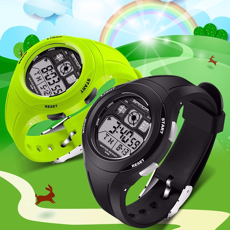 Efficient Sanda Top Led Digital Children Watch Kids Watches Girls Boys Clock Child Sport Wrist Watch Electronic For Girl Boy Surprise Gift Children's Watches