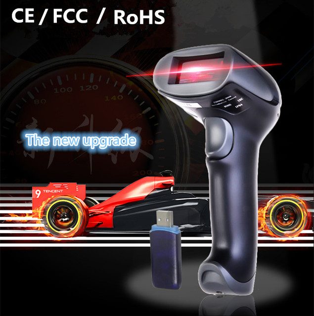 2016Wireless laser barcode scan ner  scanner gun express a single dedicated gun sweep supermarket Retail Stores bar code reader
