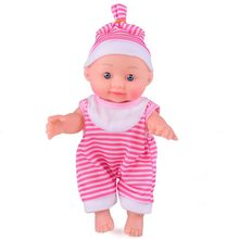 OCDAY Simulated Baby Doll Soft Silicone Body Dressing Clothes Doll Realistic Newborn Doll Parenting Toy for Kids Education Toy(China)