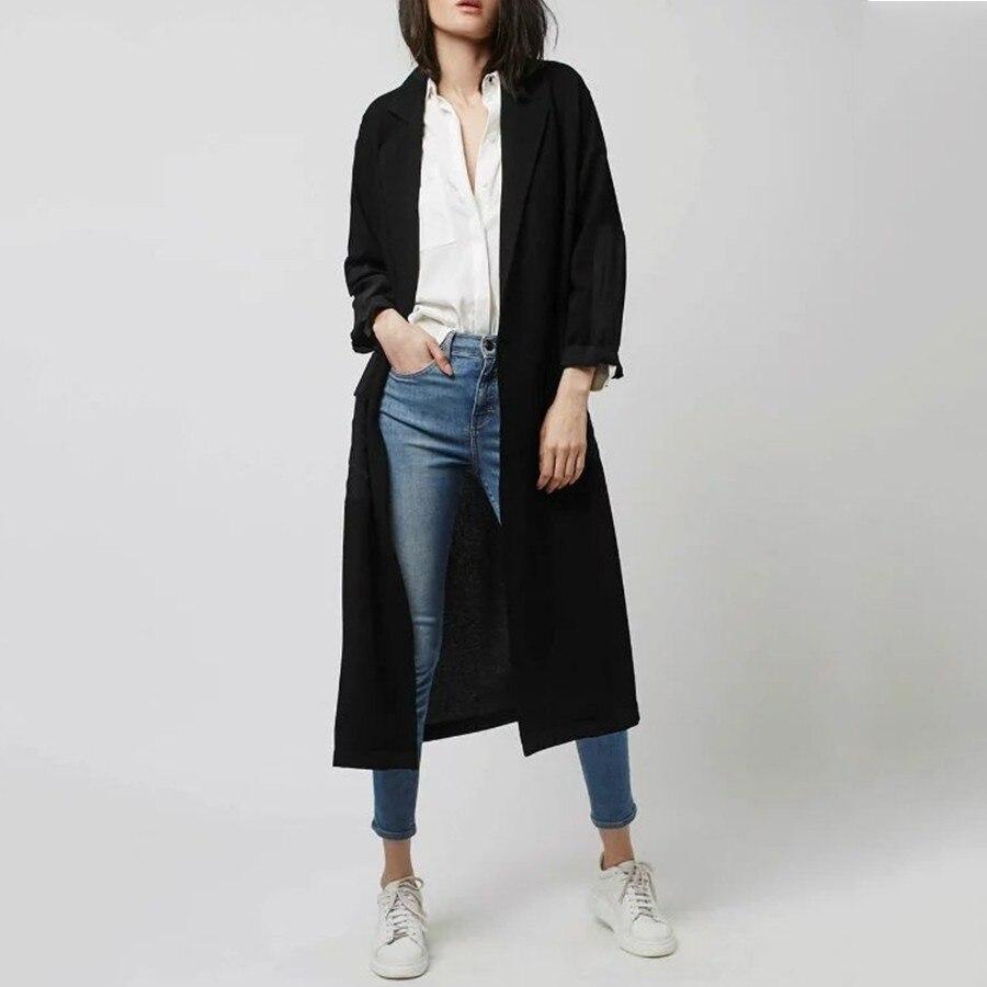 Popular Black Trenchcoat-Buy Cheap Black Trenchcoat lots from ...
