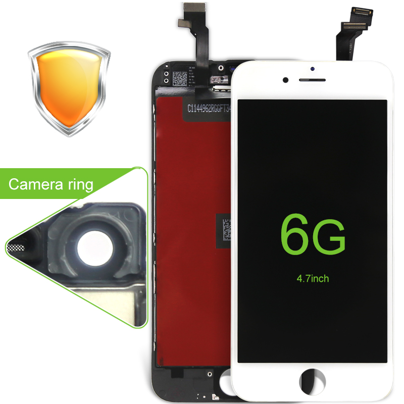 imágenes para 20 unids ecran de alta copia AAA 4.7 pulgadas para el iphone 6 Lente de Reemplazo de pantalla LCD de Pantalla Táctil con Digitalizador de envío gratis