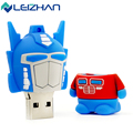 LEI ZHAN USB Flash Drive Transformers Stick 64GB 32GB 16GB 8GB 4GB Memory Pendrive USB 2.0 Pen Drive Storage Device Memory Disk